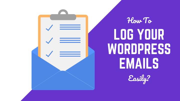WordPress Email Logs