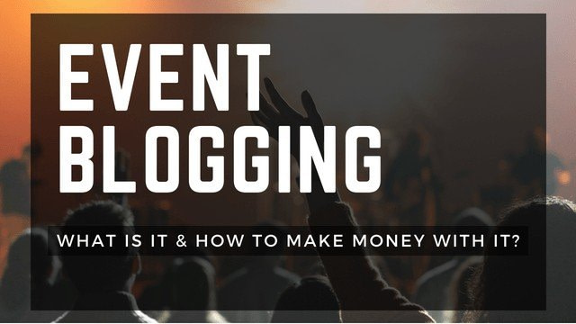 Event Blogging