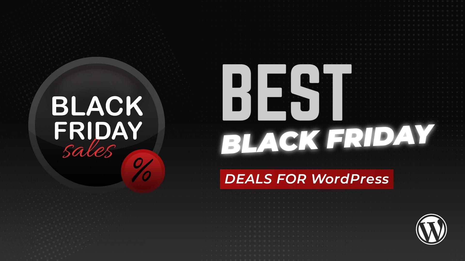 Best Black Friday Deals For WordPress