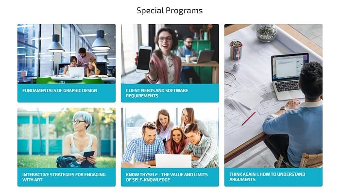 Elementor Online Course Website Special Program