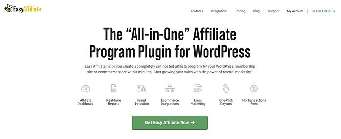 Easy Affiliate Plugin For WordPress