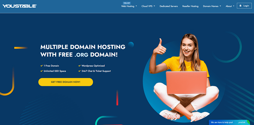 YouStable Hosting Review