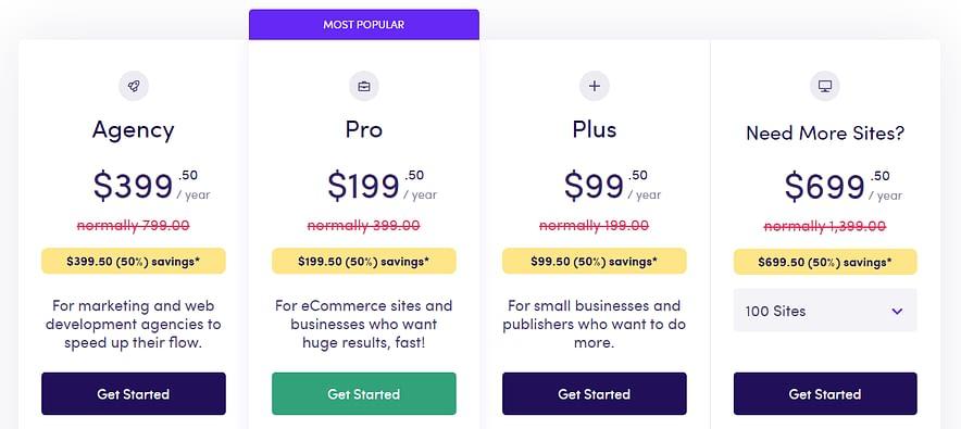 ExactMetrics Pricing