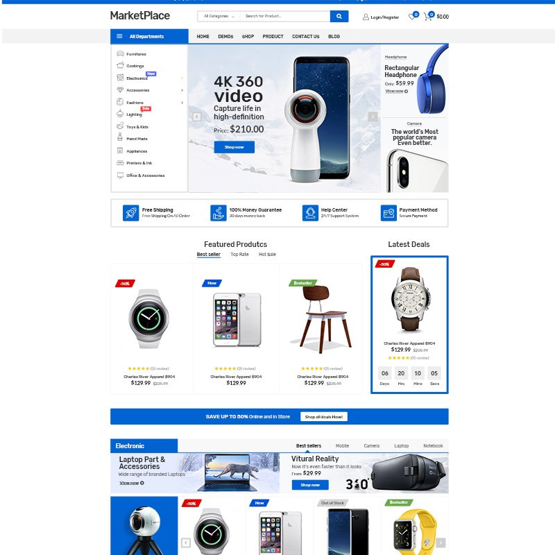 MarketPlace WooCommerce Theme