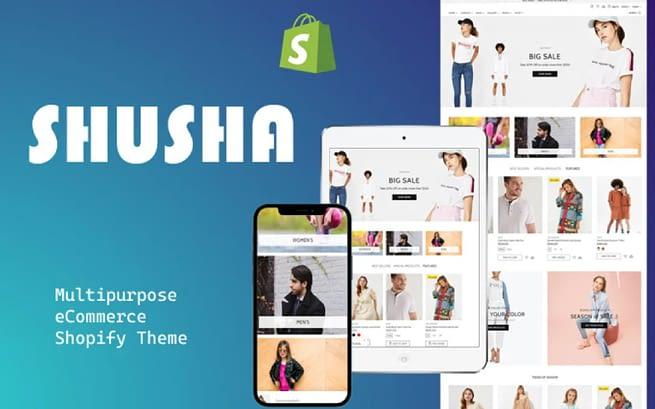 Shusha Shopify Theme