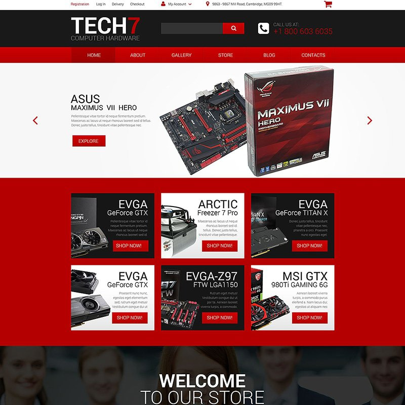 Tech7 WooCommerce Theme