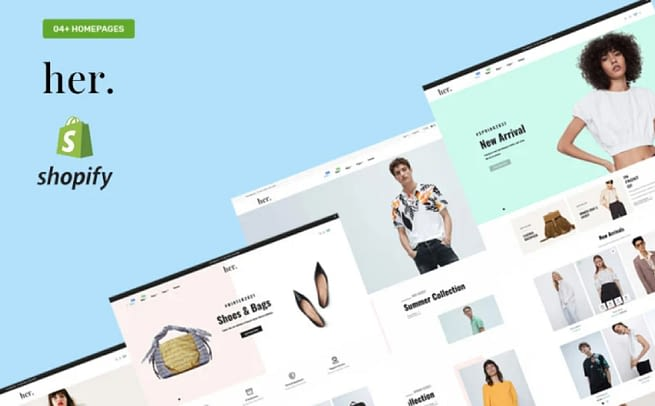Her Fashion Store Shopify Theme