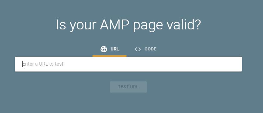 AMP Test Tool