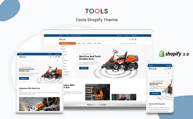 Tools Shopify Theme