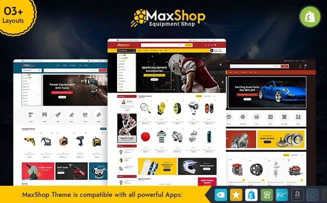 Maxshop Shopify Theme