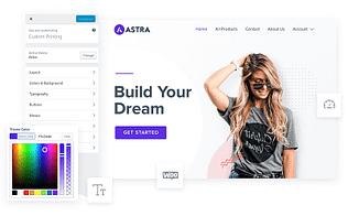 Astra Customizer Promo