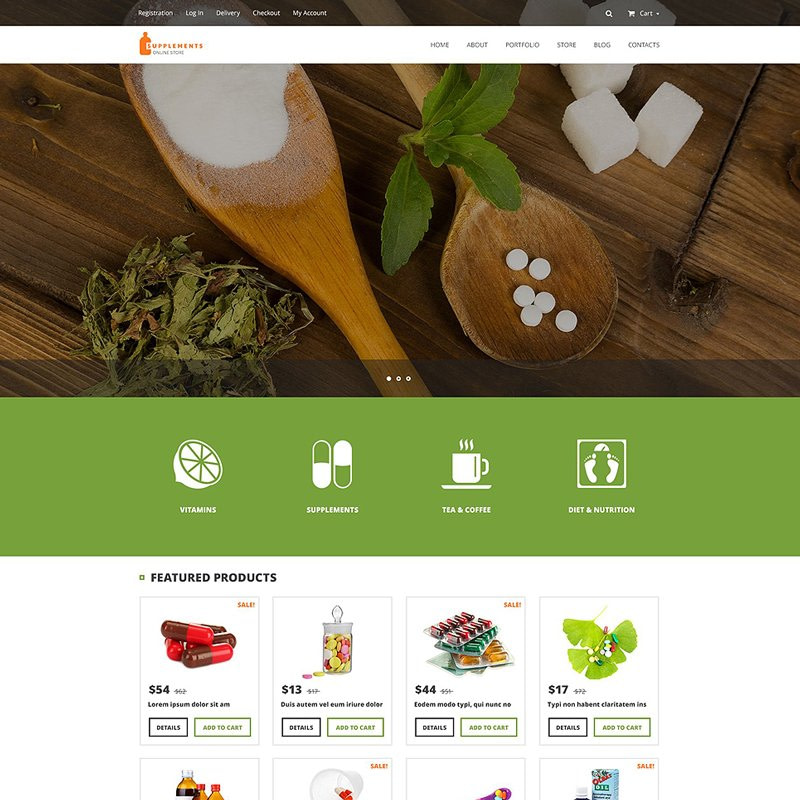 Supplement WooCommerce Theme