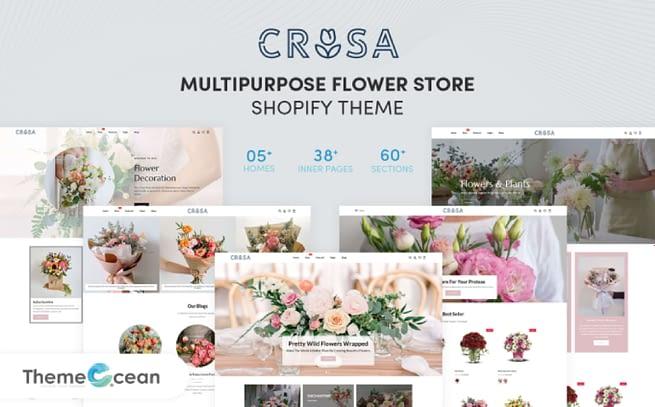 Crosa Shopify Theme