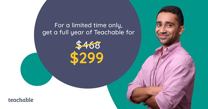 Teachable Discount Code