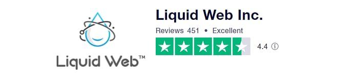 Liquid Web Review On TrustPilot